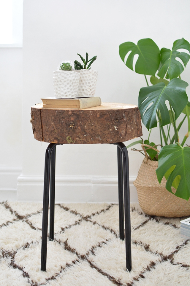 IKEA_Hack_wood_slice_stool